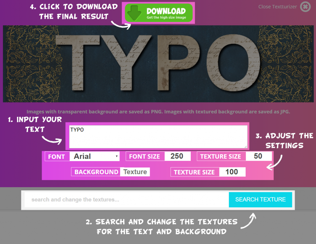 The Best text generator online available for free. How does Textturizer work?