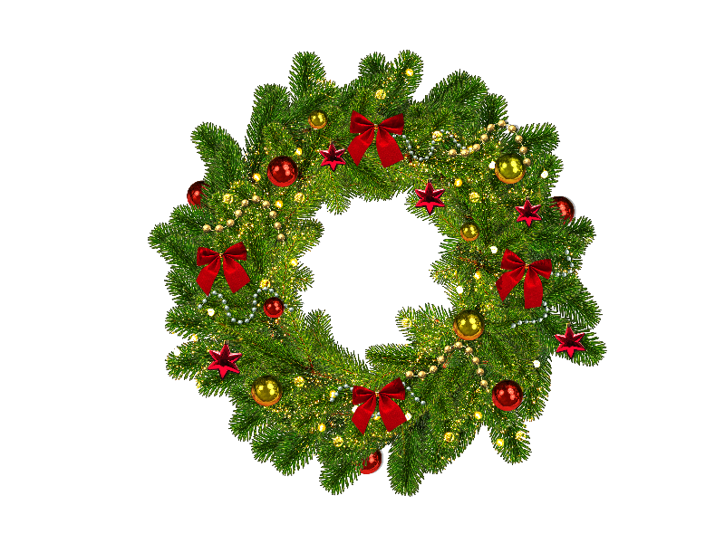 Christmas Wreath Image Free