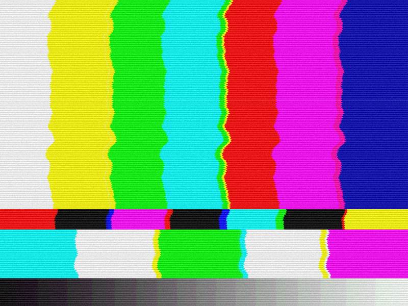 TV Bad Signal Texture Background Free