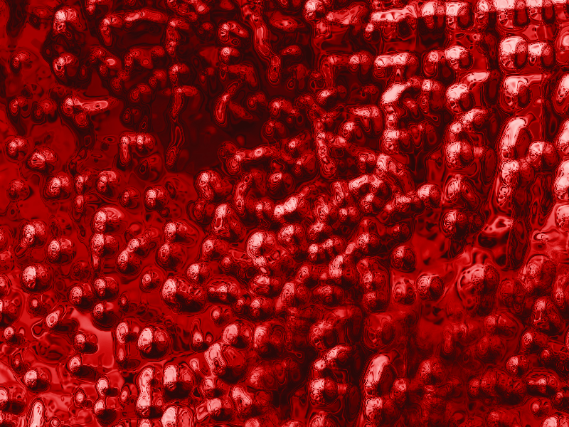 Abstract Red Blood Cells Texture Free