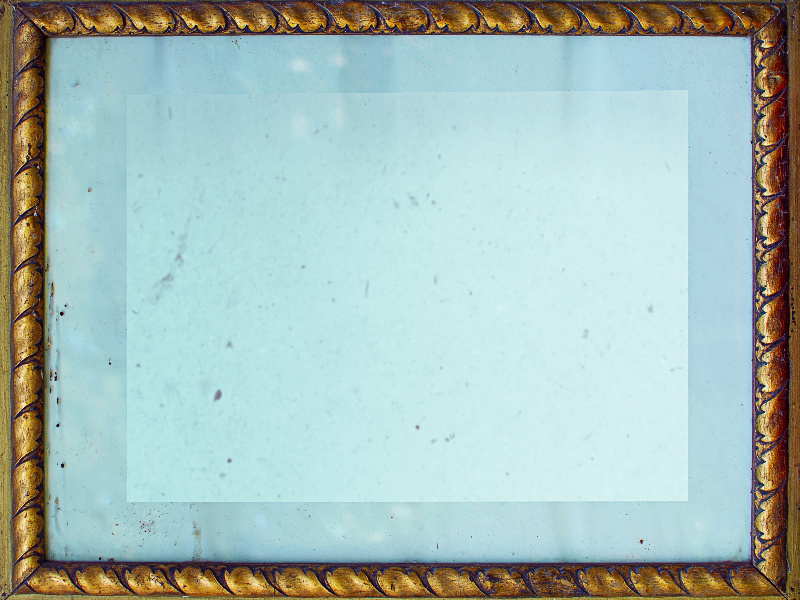 Antique Golden Frame For Photoshop