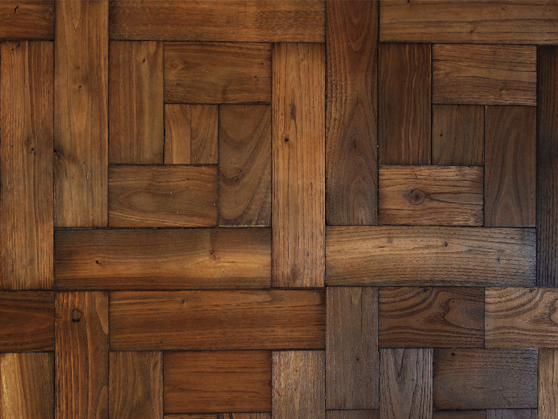 Antique Parquet Wood Flooring Texture Free