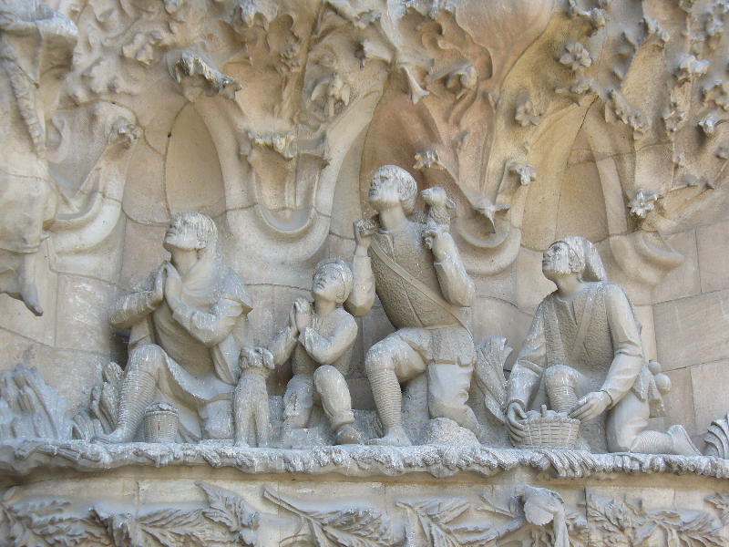 Bas-Relief Architecture Stone Sculpture