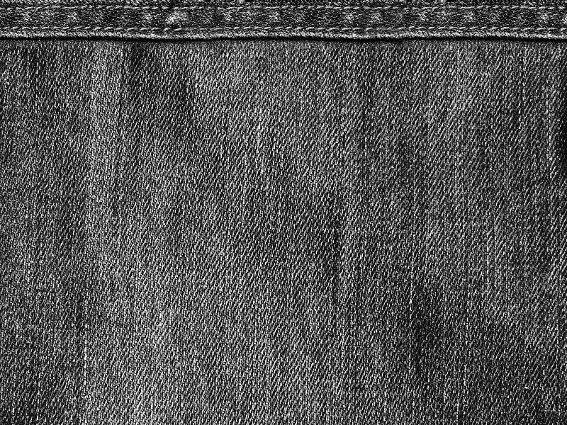 Black Denim Texture Free