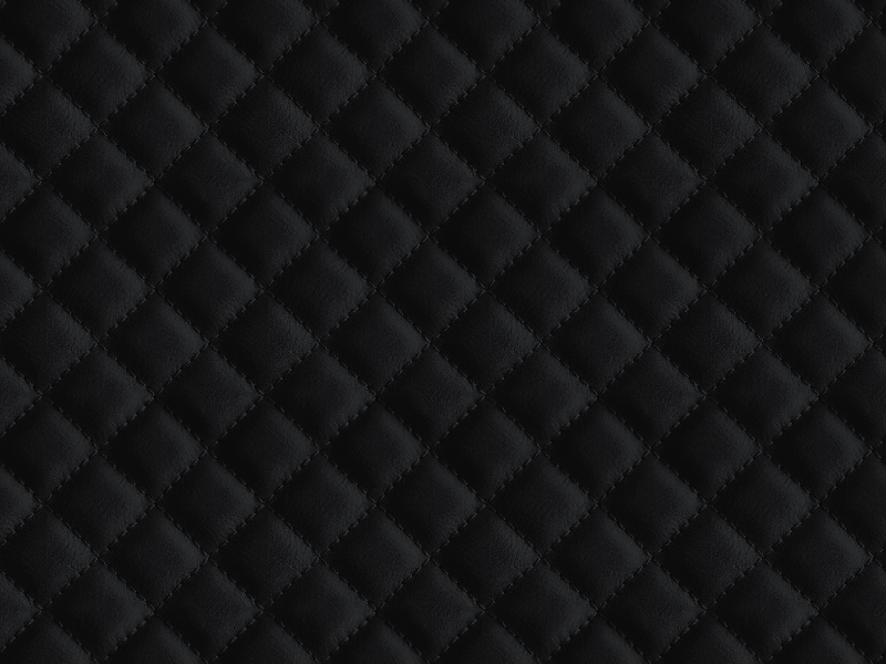 Black Diamond Pattern Leather Seamless Texture Free
