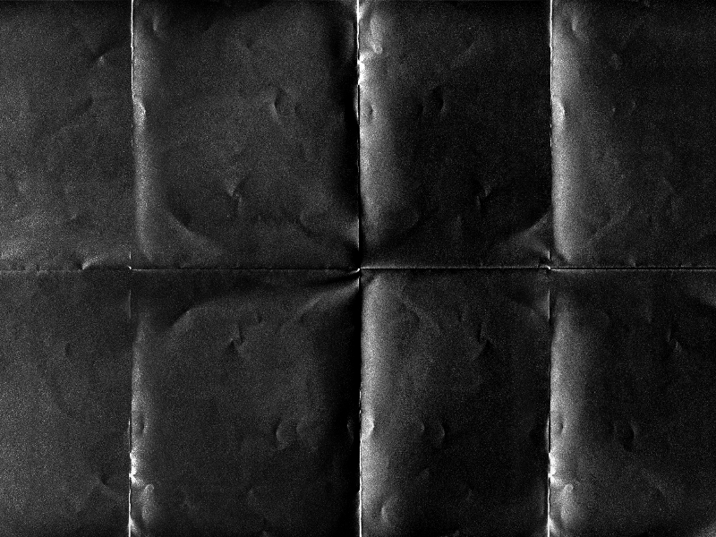 Black Folded Paper Texture Overlay For Photoshop