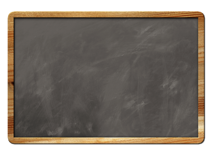 Blank Chalkboard Background With Border