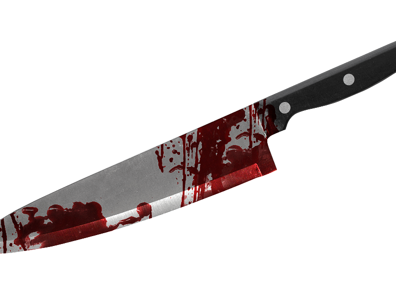 Bloody Knife PNG Free