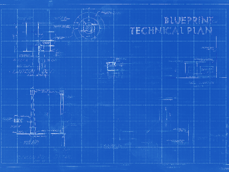 Blueprint Texture Free Background