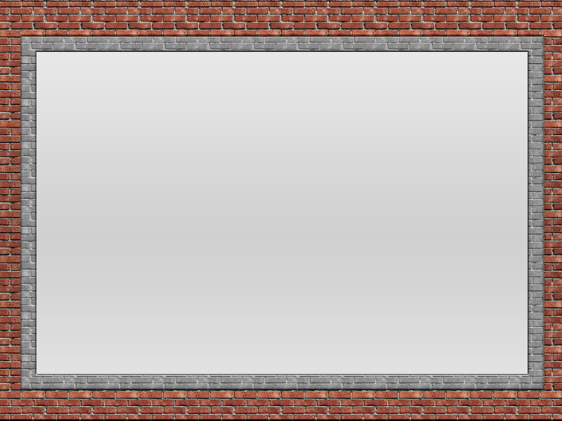 Brick Frame For Photo Free Template