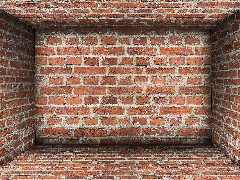 Brick Room Stage Background Free