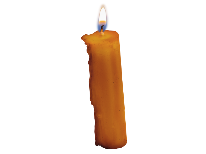 Burning Candle PNG