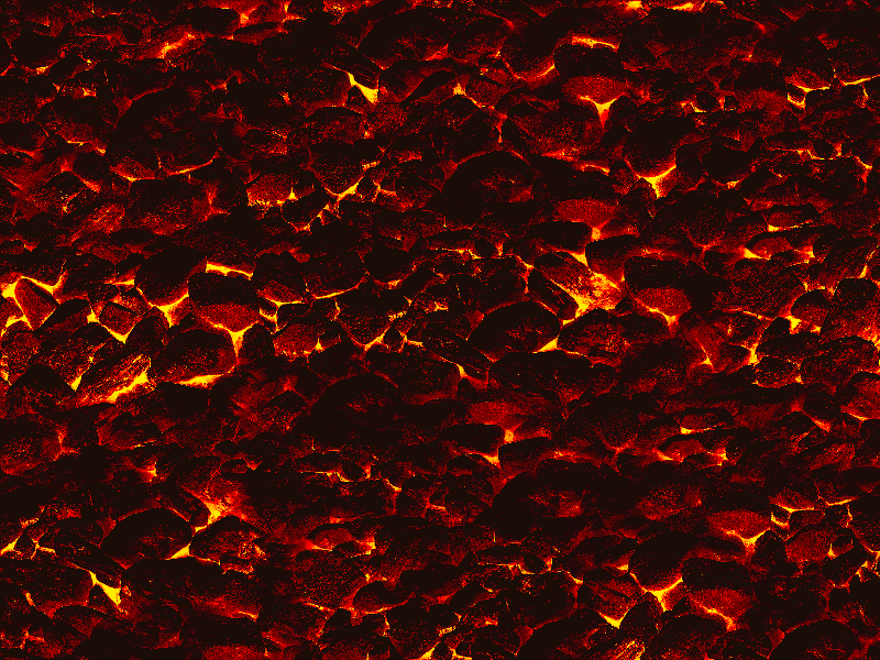 Burning Charcoal Texture Seamless