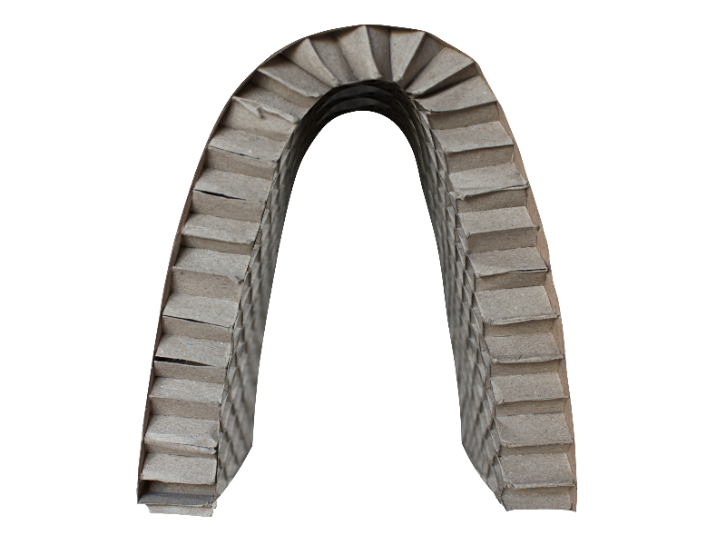 Cardboard Paper Arch PNG