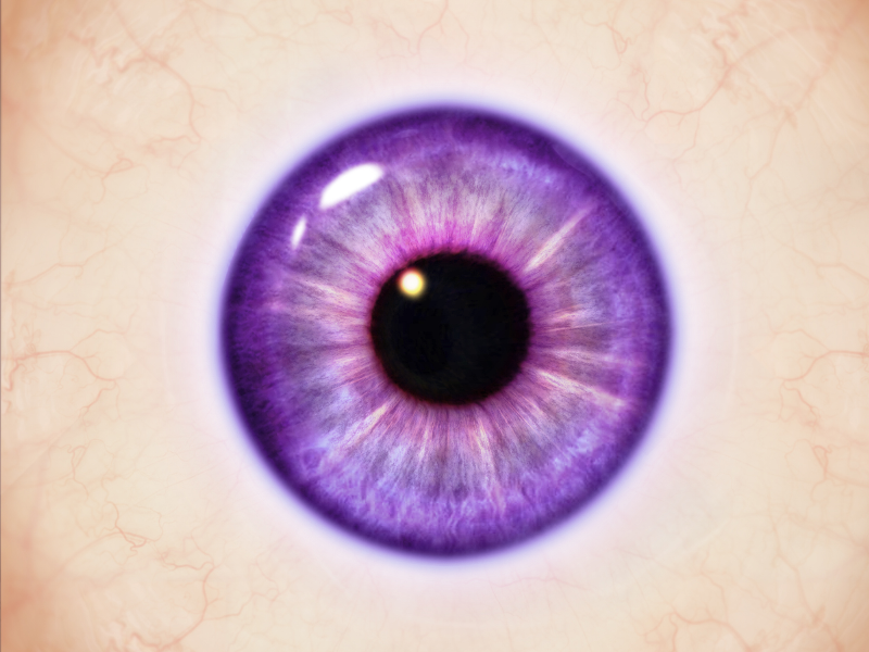 Cartoon Eye Texture Free