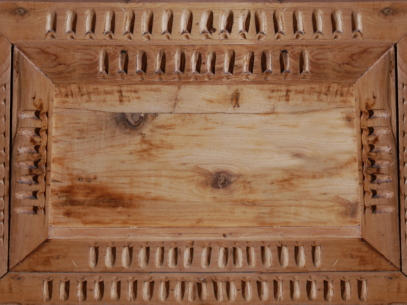 Carved Wood Box Texture Free