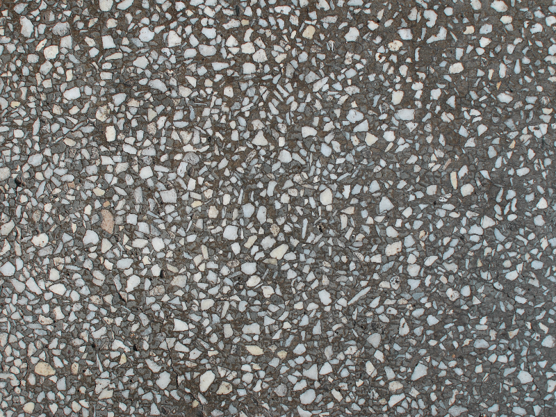 Cement Mixed With Gravel Floor Texture