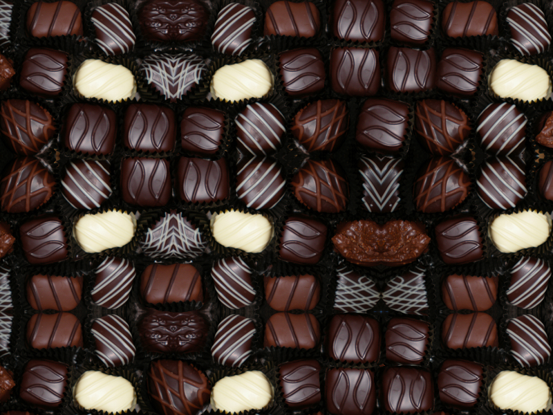 Free Chocolate Bonbons Texture