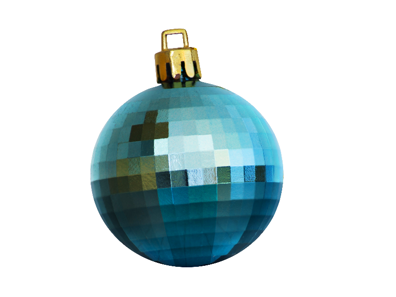 Christmas ball png isolated objects textures for photoshop
