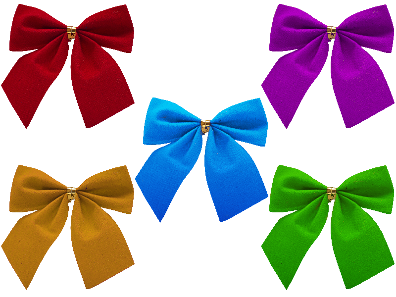 Christmas Bow PNG Free