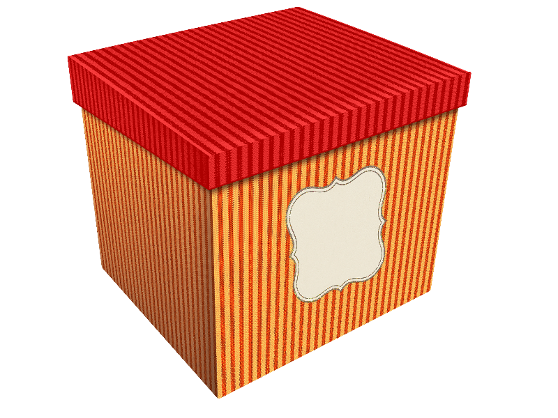 Christmas Gift Box PNG Transparent