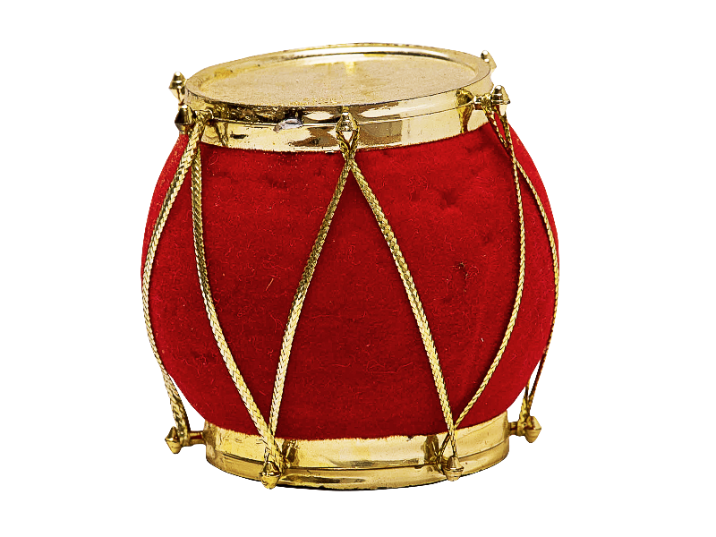 Christmas Ornament Drum PNG