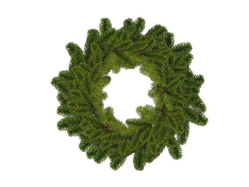 Christmas Wreath Png.Christmas Wreath Png Isolated Objects Textures For Photoshop