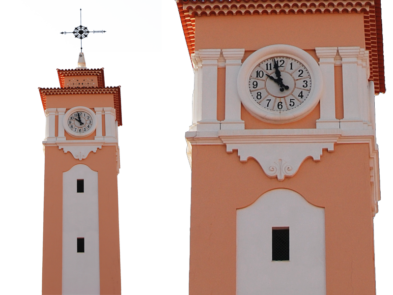 Clock Tower PNG Image