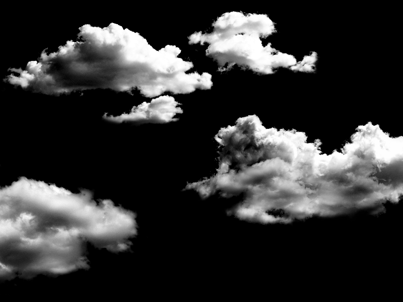 Clouds Overlay For Photoshop Free