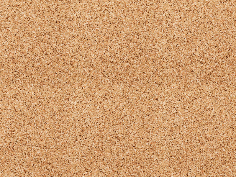 Corkboard Background With Seamless Cork Texture