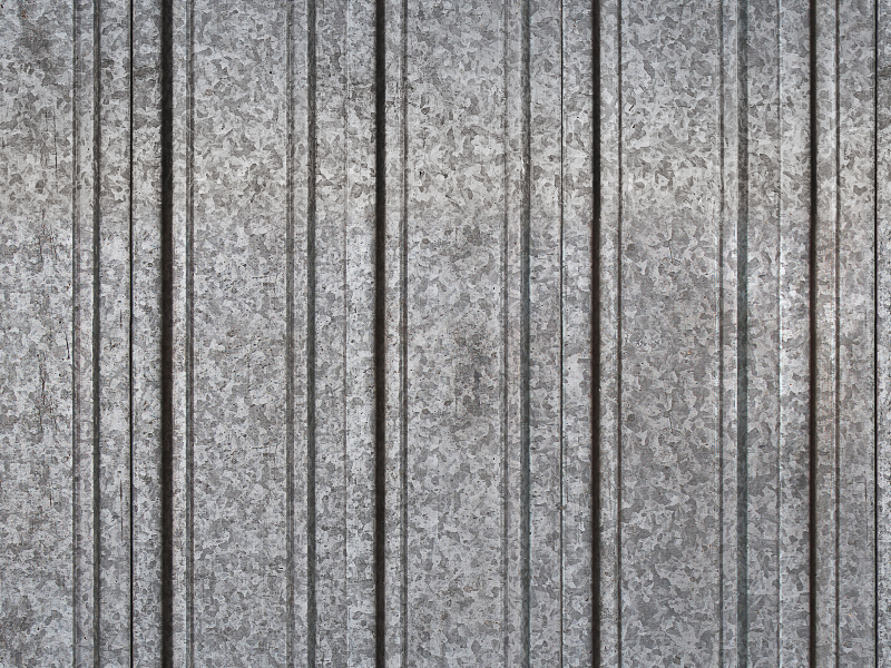Corrugated Iron Texture Seamless