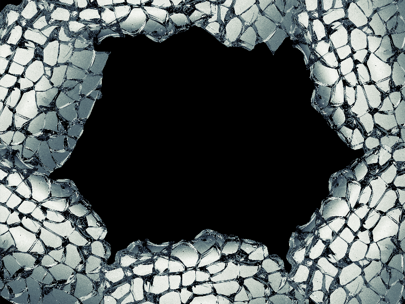 Broken Mirror With Glass Shards PNG (Glass) | Textures for