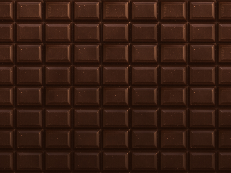 Dark Chocolate Tablets Texture Free Download