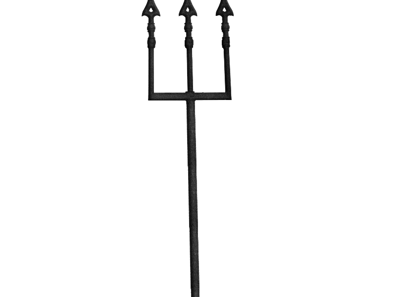 Devil Pitchfork Mythological Weapon PNG