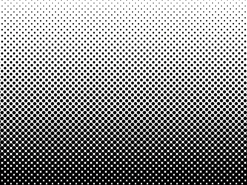Dotted Halftone Black And White Background