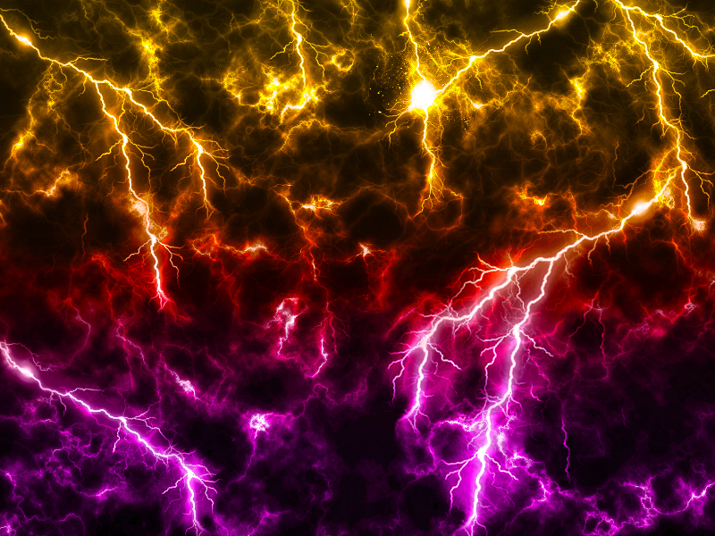 Electric Lightning Light Texture Free