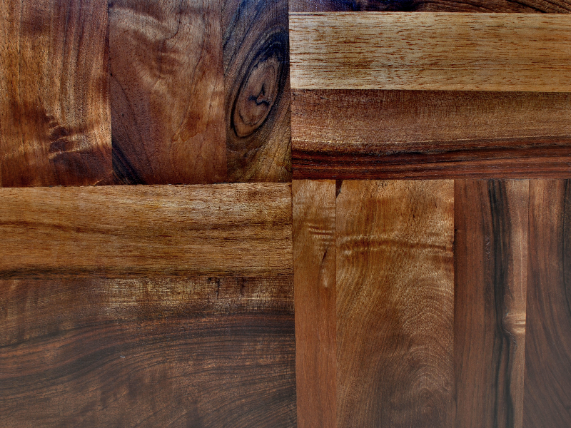 Exotic Wood Tiles Texture