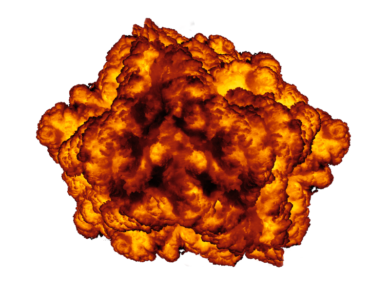 Explosion Effect PNG Image