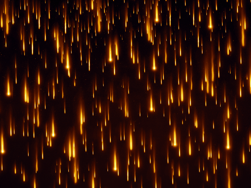 Fire Rain Effect Texture Overlay For Photoshop