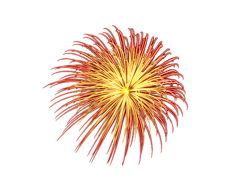 Fireworks PNG with Transparent Background