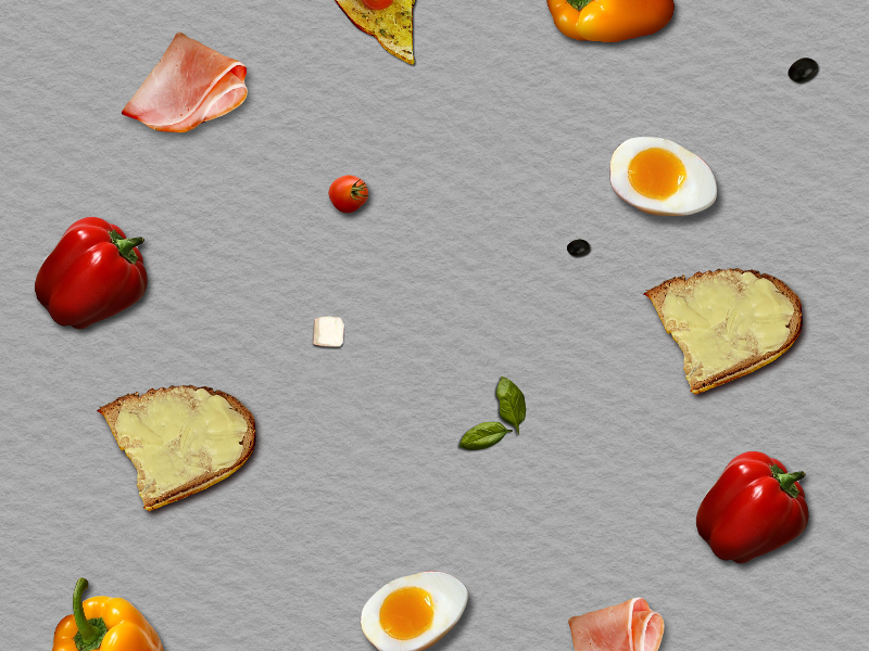 Food Pattern Background Free