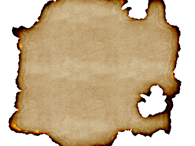 Free Burnt Paper Texture Background