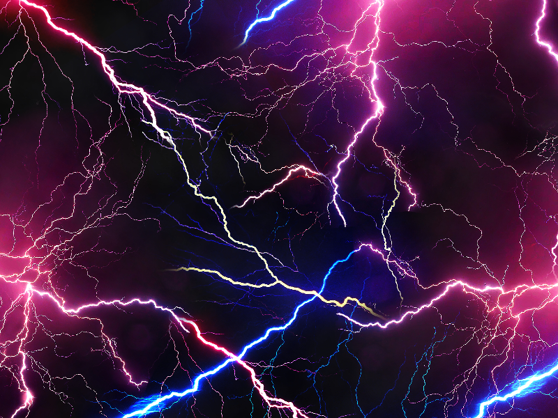 Free Electric Lightning Texture Background
