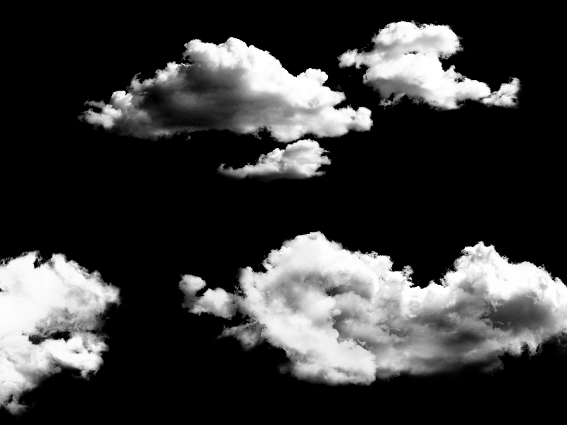 Sky Clouds Overlay Photoshop Texture