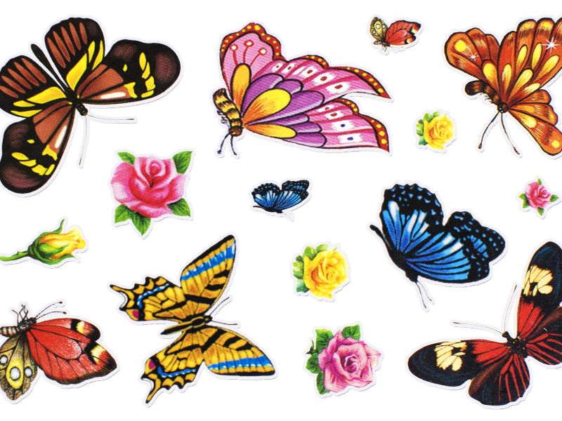 Free Cute Sticker PNG Clipart