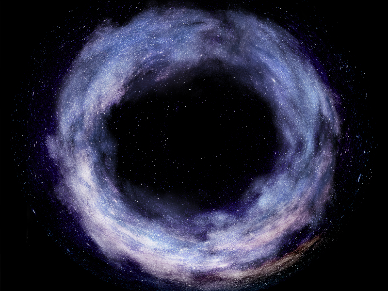 Galaxy Clouds Dust Ring Texture Overlay Free