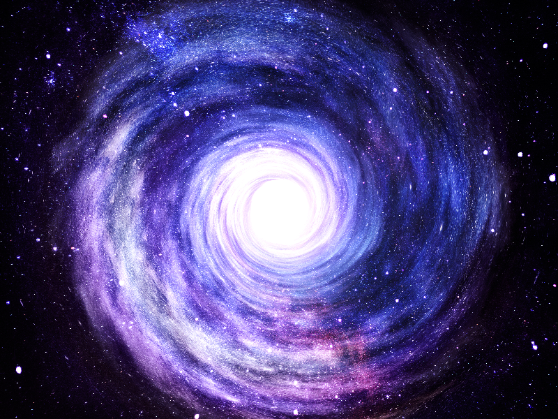 Galaxy Spiral Vortex Free Background