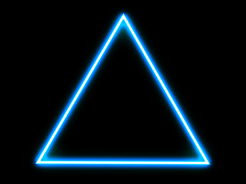 Glowing Triangle 1