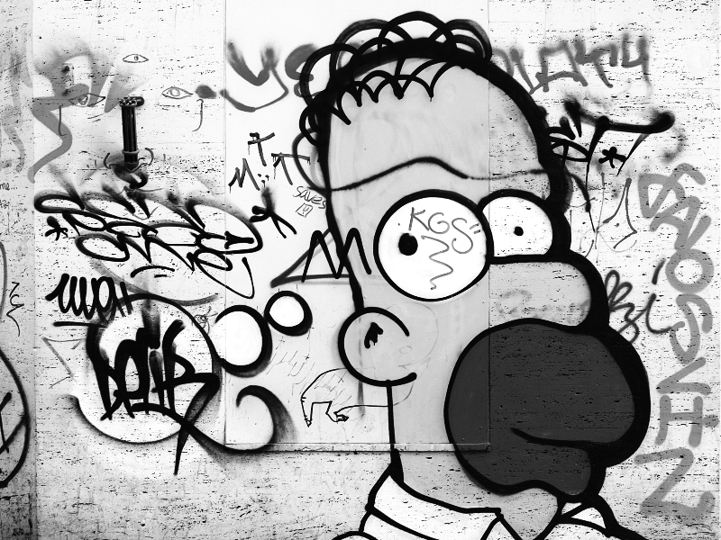 Graffiti Black And White Drawings High Res Texture