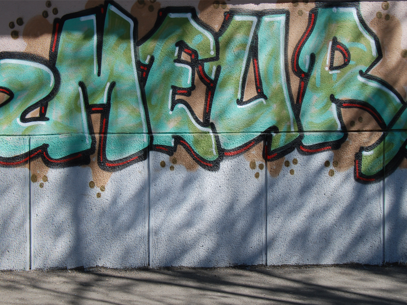 Graffiti Typography Street Art Texture